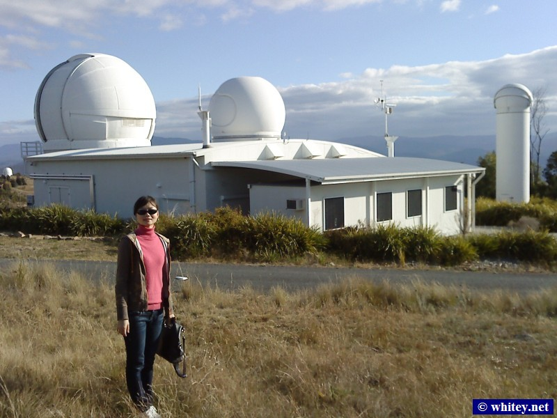 Mount Stromlo Observatory complex, Canberra, Australie.