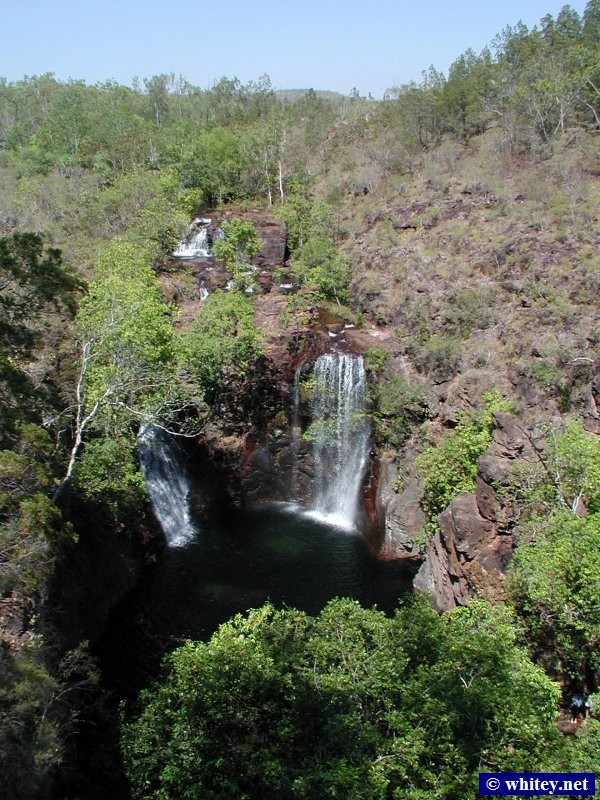 Florence Falls, Litchfield National Park, south of Darwin, Australia.