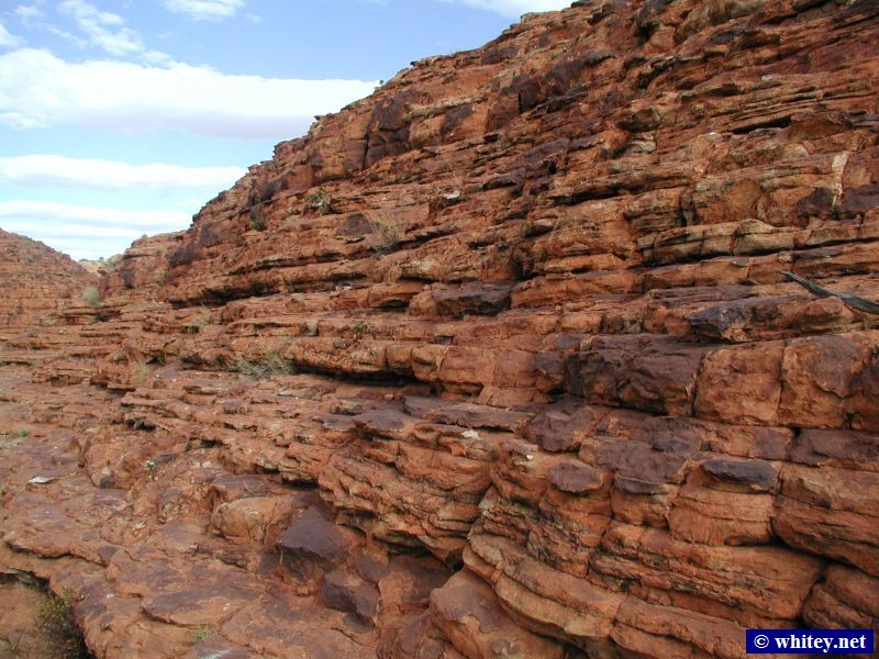 Kings Canyon, Watarrka National Park, Australia.