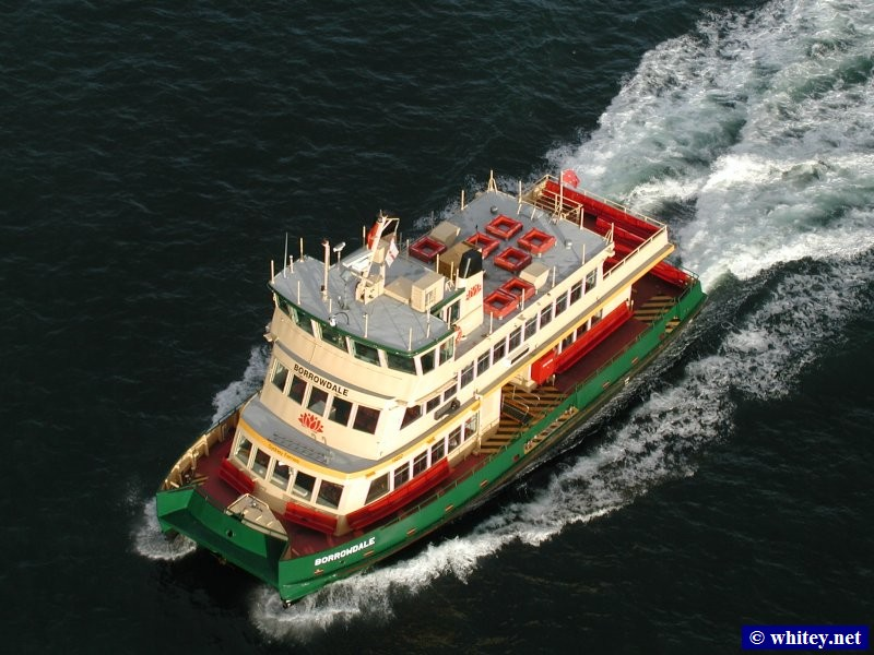 "Сидней Harbour Ferry ""Borrowdale"", Сидней, Австралия."