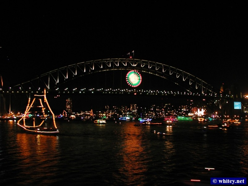 Sydney Harbour Bridge and Ships, Sydney, Australia.