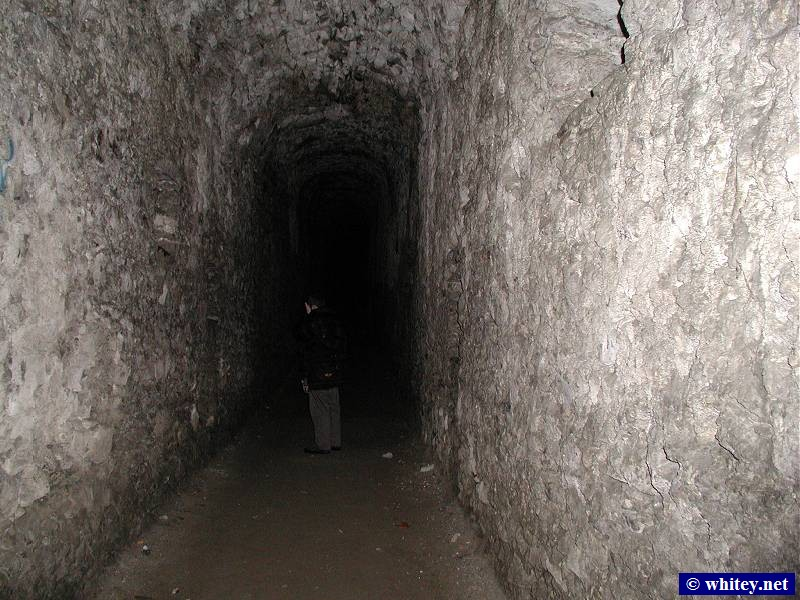 Inside the Castelgrande tunnels, Bellinzona, 瑞士. (十一月 9)