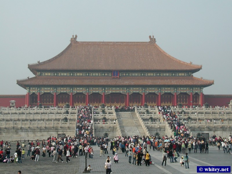 Hall of Supreme Harmony, Ciudad Prohibida, Pekín, China.  太和殿, 故宫.