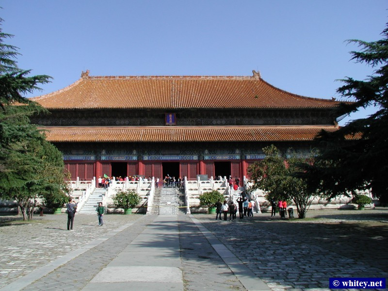 Hall of Prominent Favour (Leng'endian), Changling, Ming Dynasty Tombs, 北京, 中国. 棱恩殿, 长陵, 明朝十三陵.