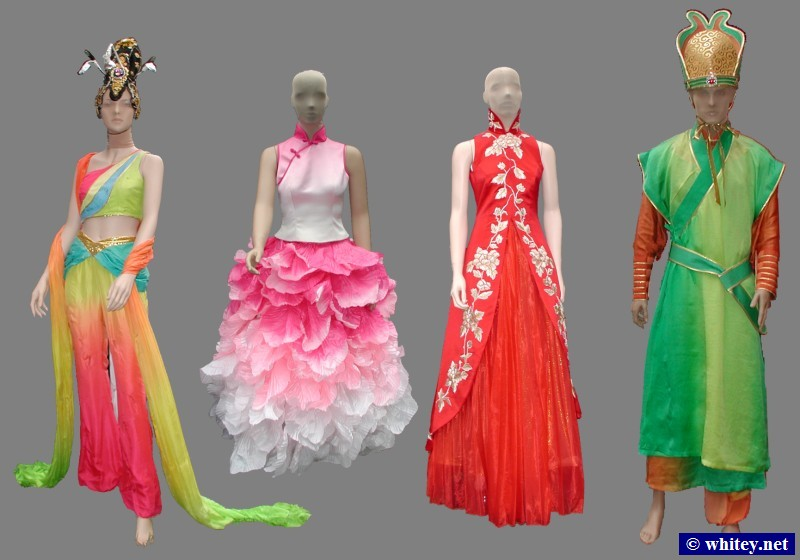2008 Peking Summer Olympics Opening and Closing Ceremony Outfits, Vogelnest, Peking, China. 鸟巢.