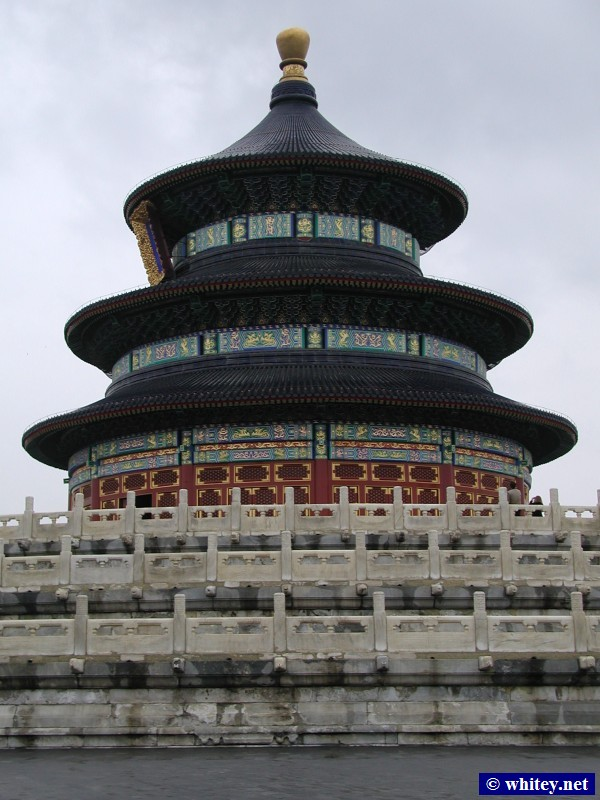Hall of Annual Prayer, Temple of Heaven, Beijing, China.  祈年殿, 天坛.