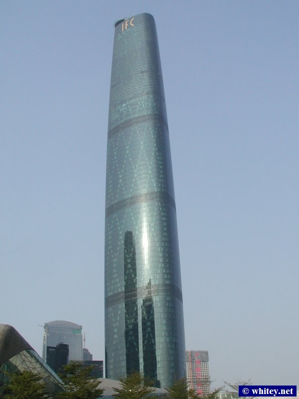 International Finance Centre, 440m tall, Cantón, China. 广州国际金融中心.