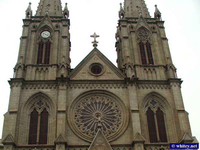 Cathedral of the Sacred Heart of Jesus, 广州, 中国.  耶穌聖心主教座堂.
