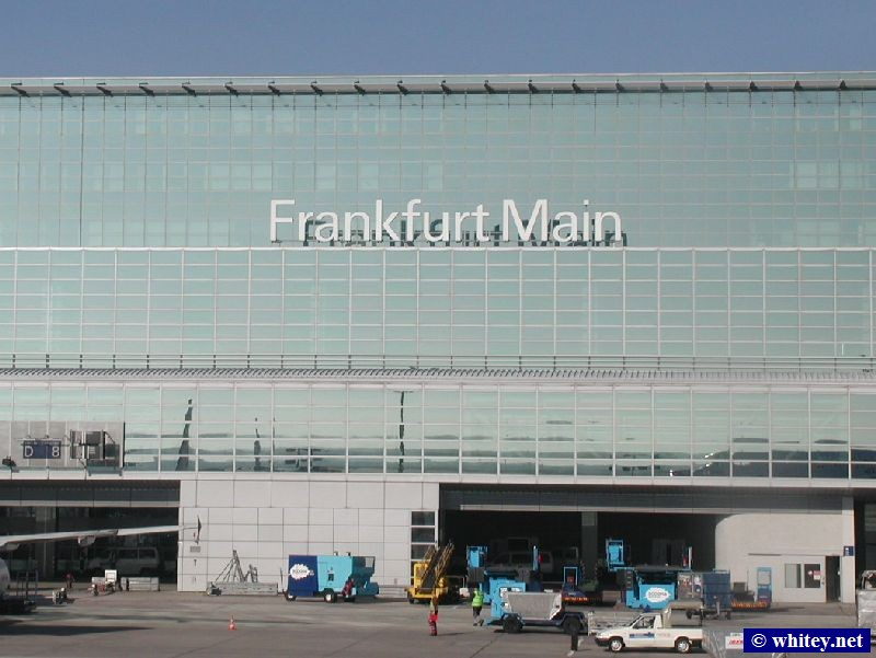 Welcome to フランクフルト Main International Airport, ドイツ! (Main rhymes with Mine) – The busiest airport in continental Europe.