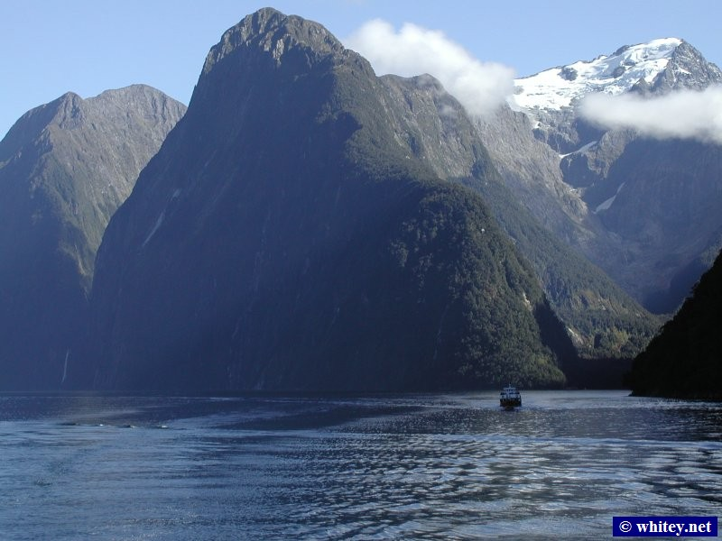 Milford Sound, South Island, New Zealand.