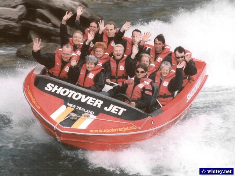 Queenstown, South Island, New Zealand – Shotover Jet.