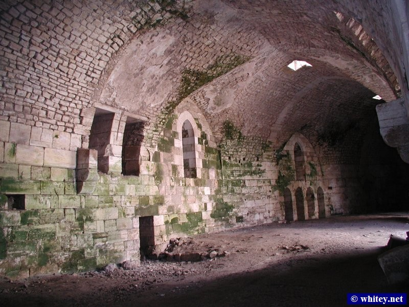 Inside a storeroom, Krak des Chevaliers, Syrie.