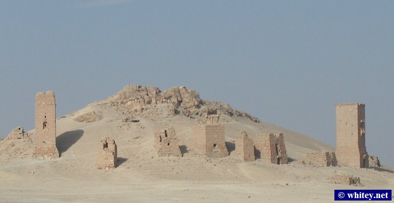 Tower Tombs, Palmyra, Syrien.