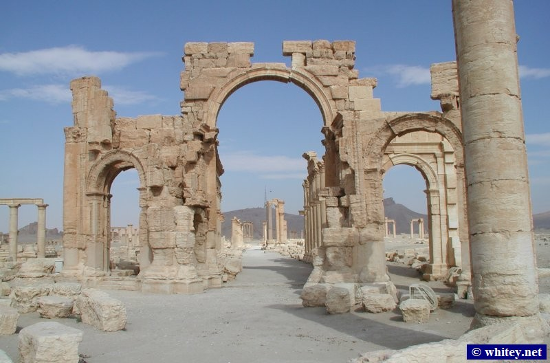 Palmyre, Syrie.
